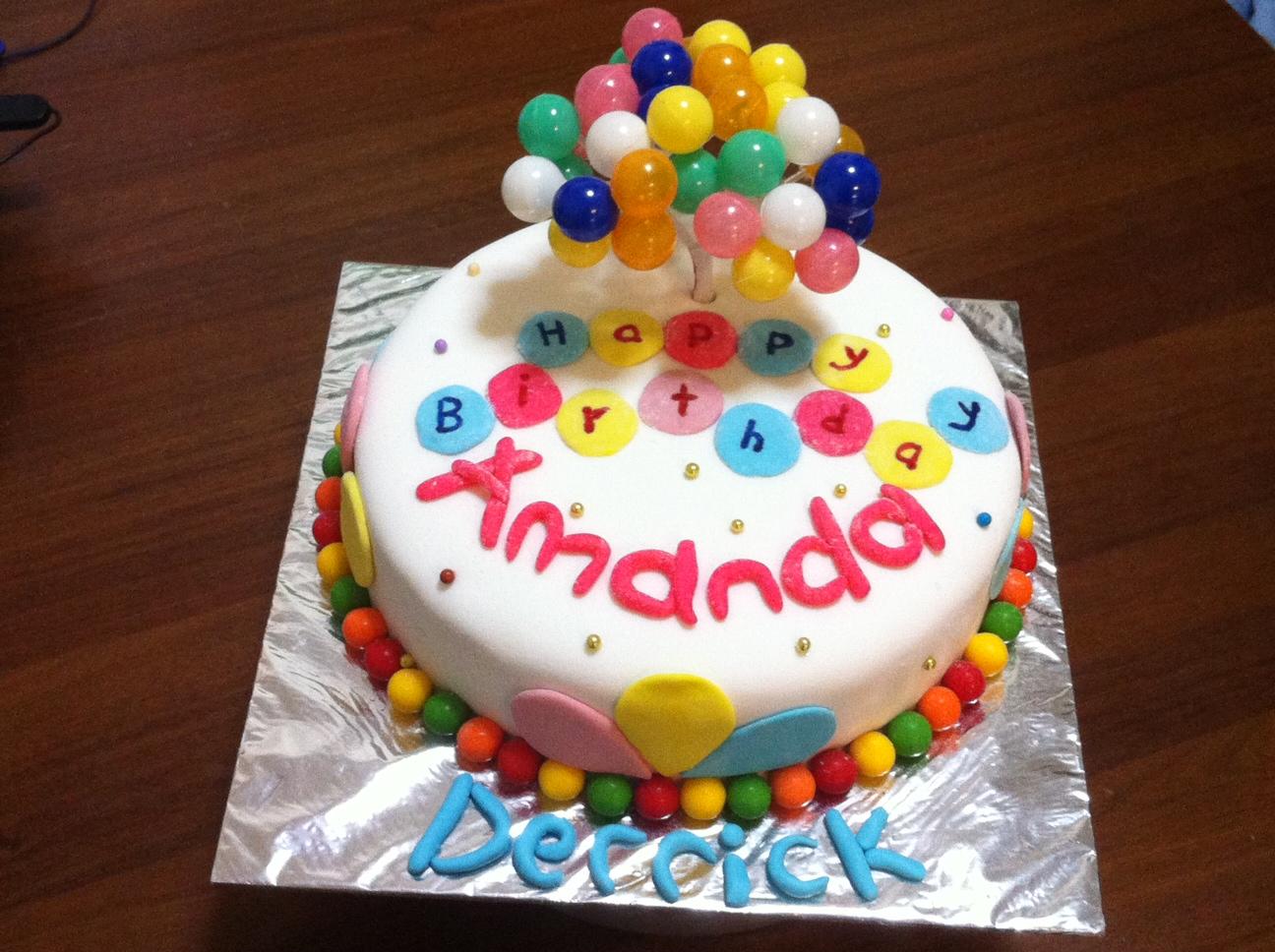Meltz Balloons Cake