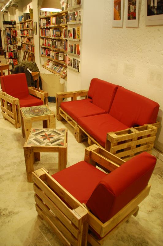 Ruang Tamu Kayu Pallet  Desainrumahidcom