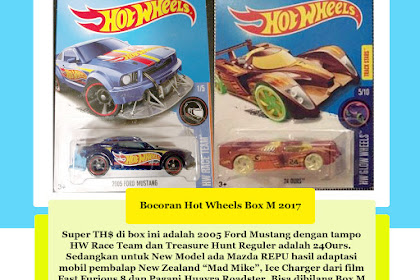 Bocoran Hot Wheels Box M 2017 (Super Hot Box)