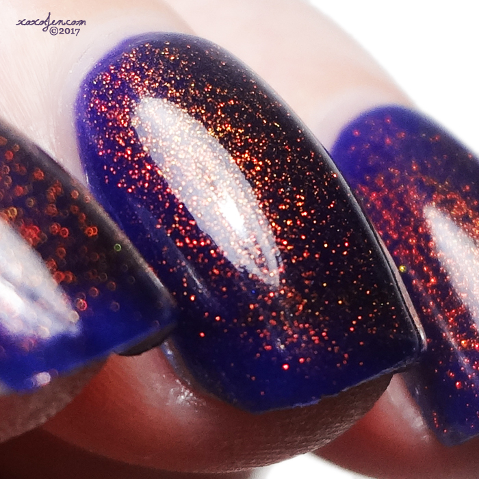 xoxoJen's swatch of KBShimmer You Dew You