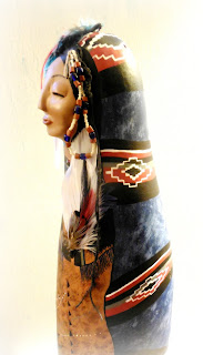 Ancient Dreams Tribal Grandmother Art Doll