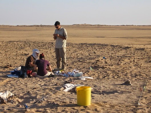 Climate instability linked to human mobility in ancient Sahara