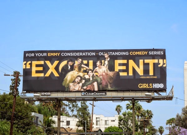 Excellent Girls 2014 Emmy Consideration billboard