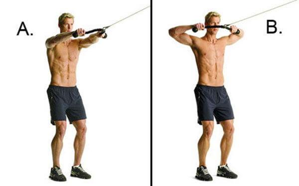 Bài tập cơ vai nở rộng săn chắc đầy mạnh mẽ cho nam giới
