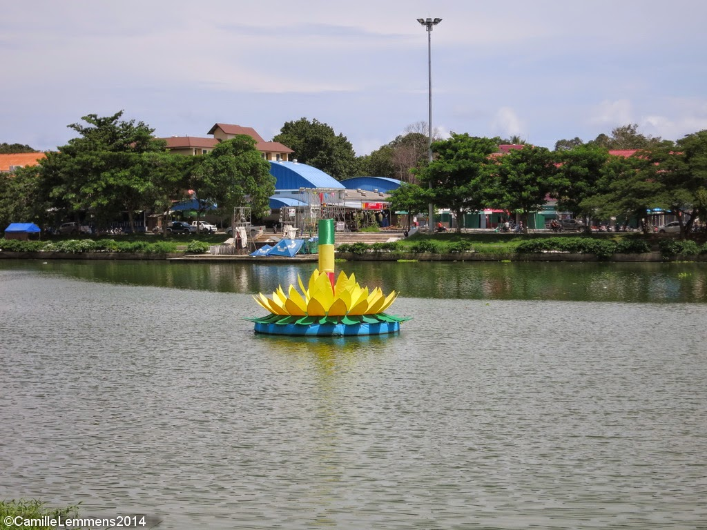 Kratong in Chaweng Lake