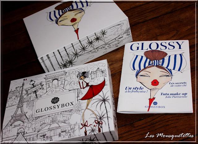 La Coquette Glossybox juillet 2015 - Les Mousquetettes©