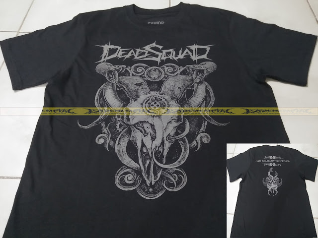 T-SHIRT DEADQSUAD - Hail Snakegoat since 2006