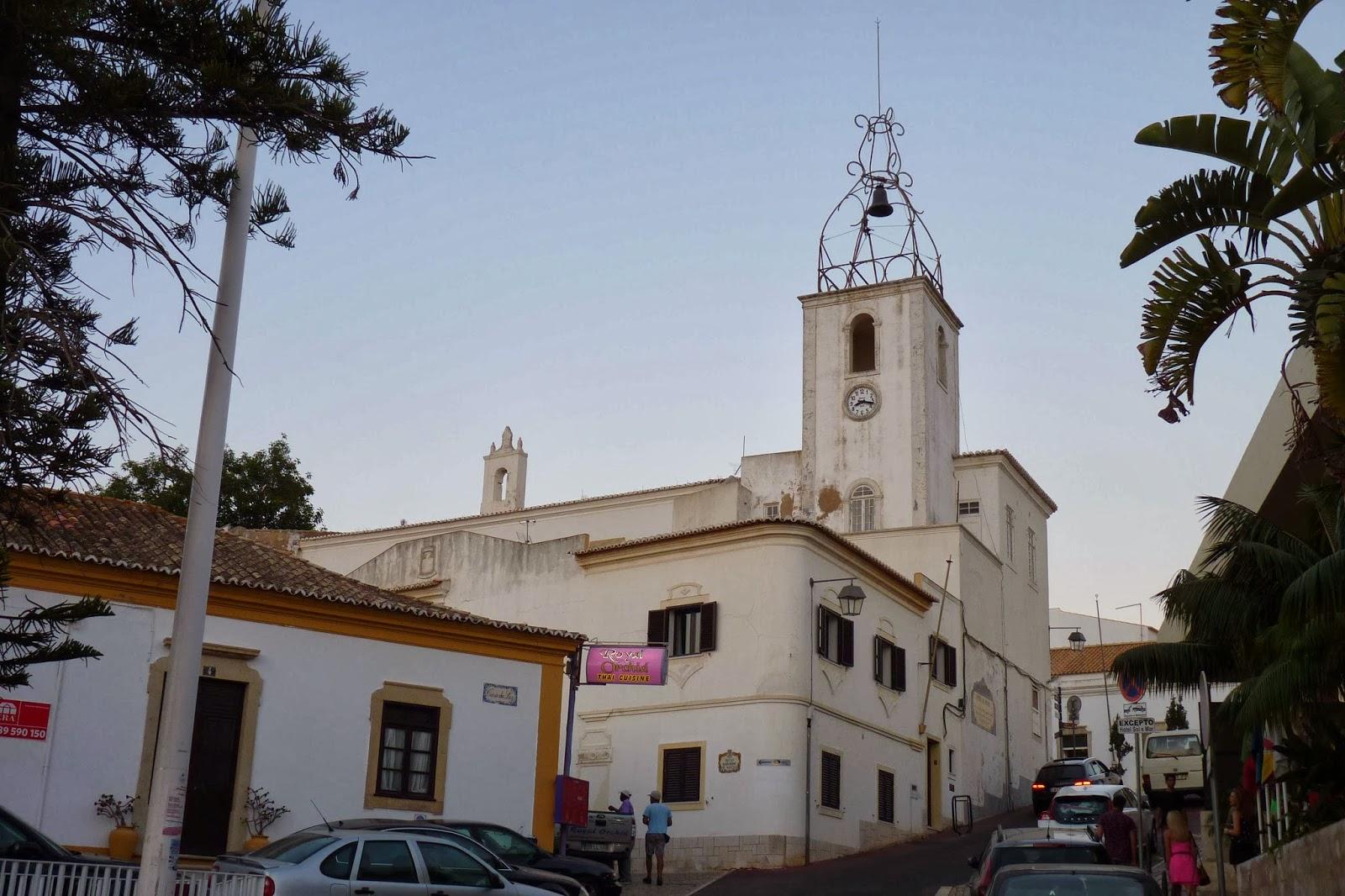 La Torre do Relógio o Torre del Reloj. Albufeira.