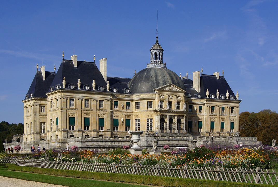 Palacios cerca de París Vaux-le-Vicomte