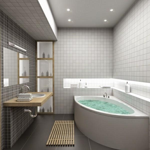 Bathroom Pendant Lighting Ideas: 30 Cool Bathroom Ceiling Lights And Other Lighting Ideas