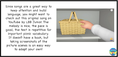 Try these 3 steps that work from Looks Like Language for using adapted books and play!