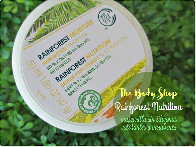 Rainforest, la mascarilla capilar sin siliconas, colorantes y parabenes de The Body Shop