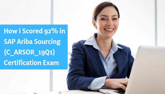 How to Prepare for C_ARSOR_19Q1 exam on SAP Ariba Sourcing