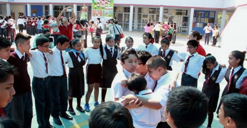 MINEDU: Ocho millones y medio de escolares participaron en el primer Simulacro Nacional Escolar 2017 - www.minedu.gob.pe
