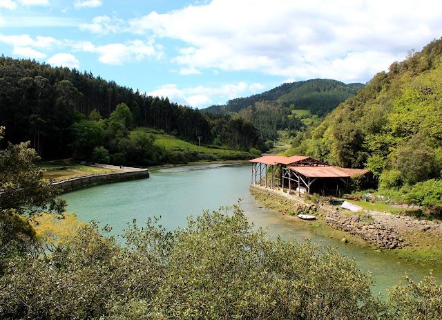 Río Lea en Lekeitio