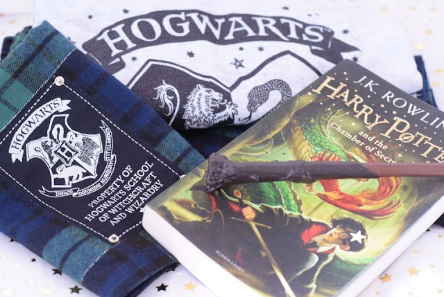 Harry Potter Hogwarts PJs from New Look