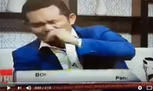 Sakaw Sabu-Sabu saat Acara Live TVOne