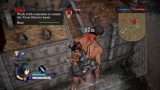 Attack on Titan Wings of Freedom PC Download Full Gameplay