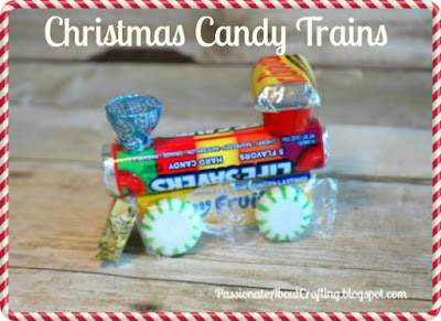 Kid's Crafts: Christmas Candy Trains