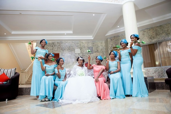 Ogwueleka Chidalu And bridesmaids
