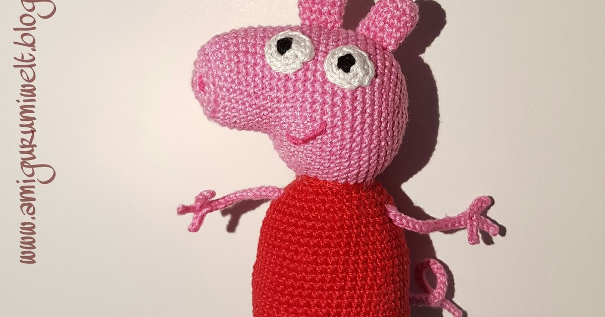 Wundervolle Amigurumi Welt Peppa Wutz Peppa Pig