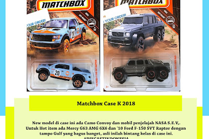 Matchbox Case K 2018