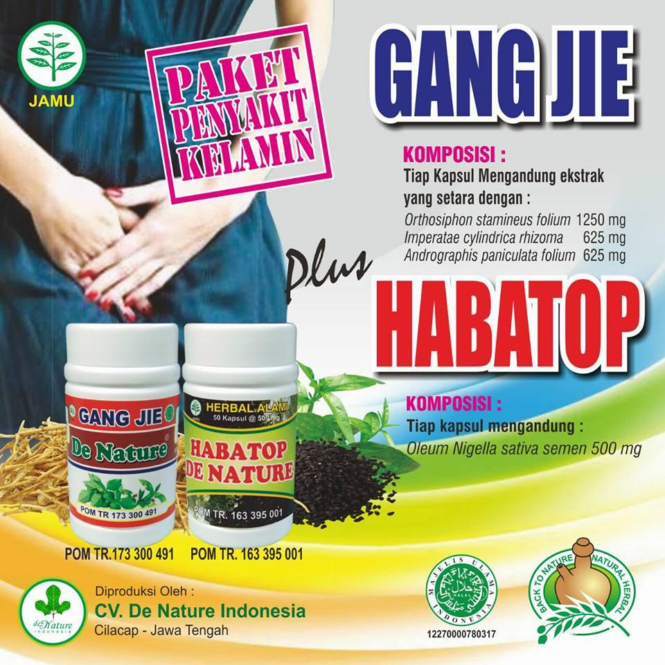 Kapsul Gang Jie dan Hebatop (Gho Siah) Solusi Menyembuhkan  Kencing Nanah / Gonore dengan Efektif dan Aman