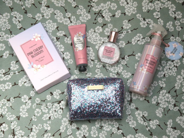 Etude House Pink Cherry Blossom Kit Swatches Review