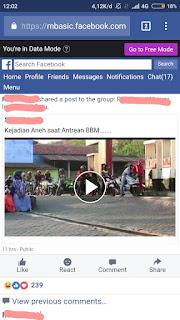 Cara download video facebook di android dengan google chrome tanpa aplikasi tambahan