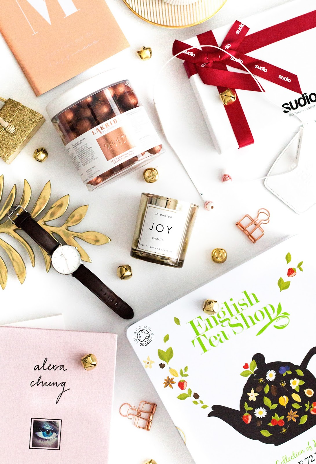 Lifestyle gift guide | lifestyle flatlay