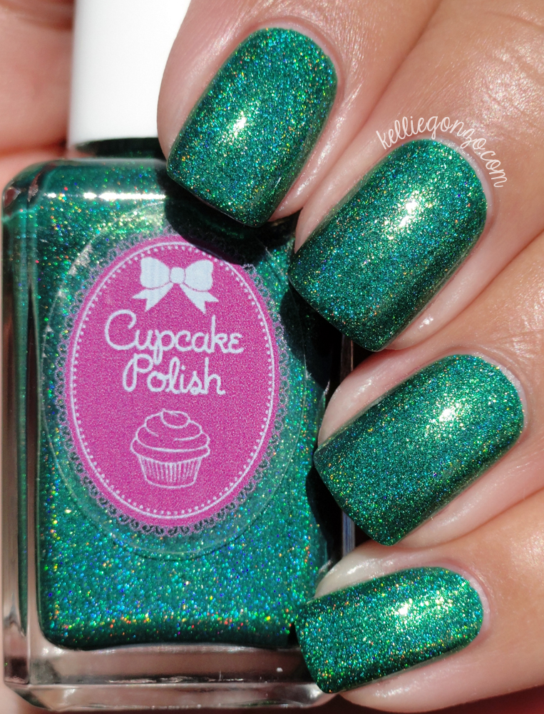 Cupcake Polish Mr. Green in the Lounge