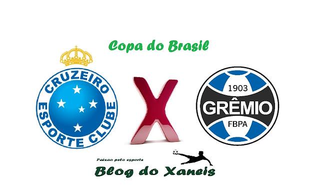 Cruzeiro x Grêmio Copa do Brasil Semifinal, Jogo 1 26/10/2016, 21:45 Mineirão, Belo Horizonte, Minas Gerais