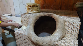 Bread oven only for bread in Iran