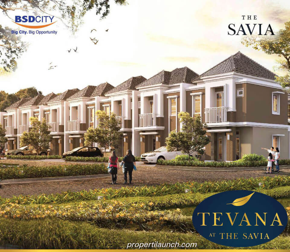 Rumah Tevana Cluster The Savia BSD