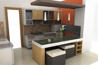 10 contoh mini bar dapur kecil mungil minimalis dan modern