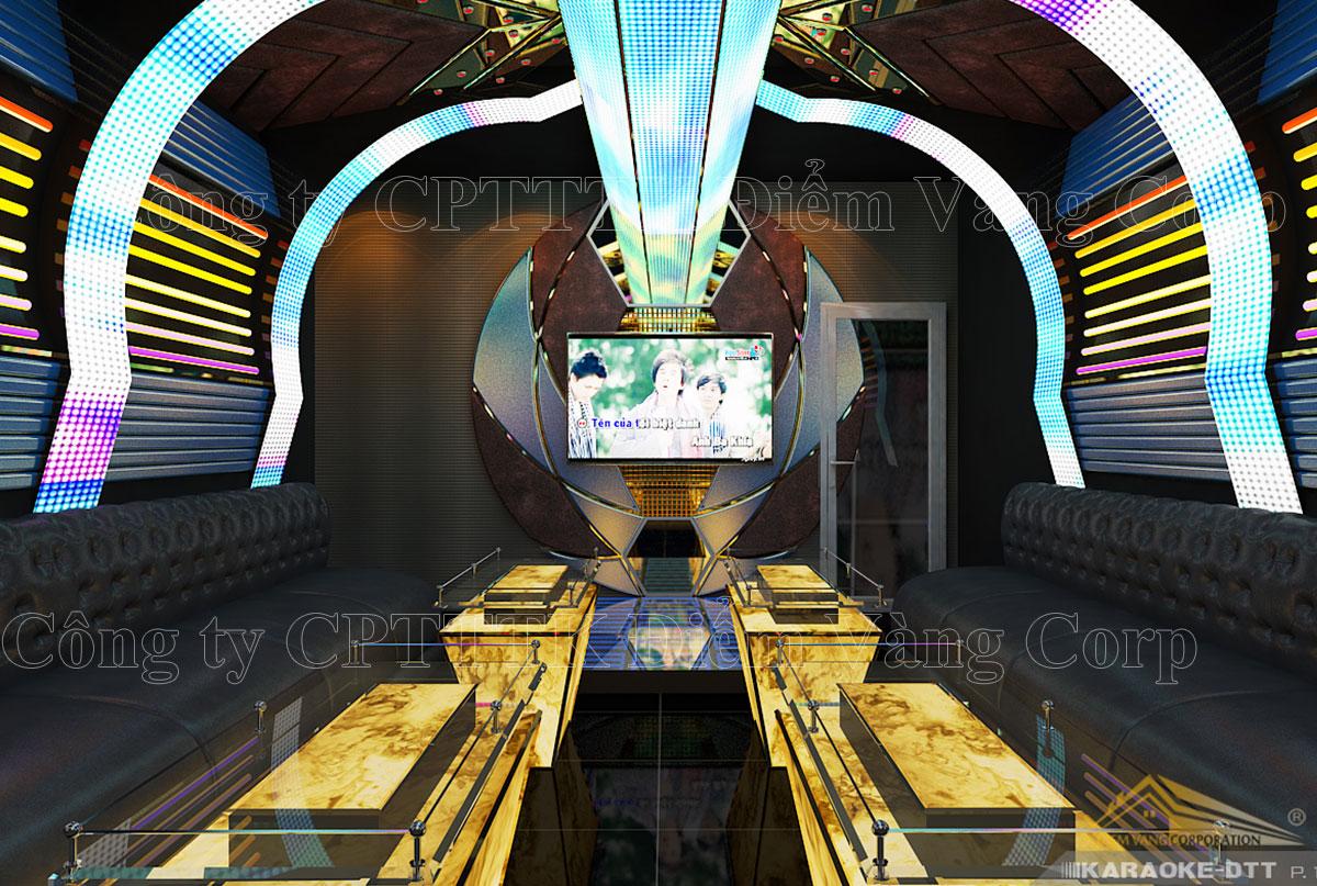Thiết kế phòng karaoke 3D Ảnh Full chất lượng cao 2