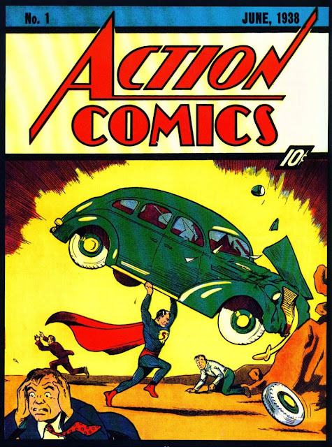Superman (Action Comics) Junio de 1938