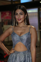 Rhea Chakraborty in a Sleeveless Deep neck Choli Dress Stunning Beauty at 64th Jio Filmfare Awards South ~  Exclusive 154.JPG