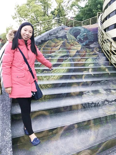 紫南宮~南投竹山景點、3D彩繪樓梯、借發財金、七星級廁所
