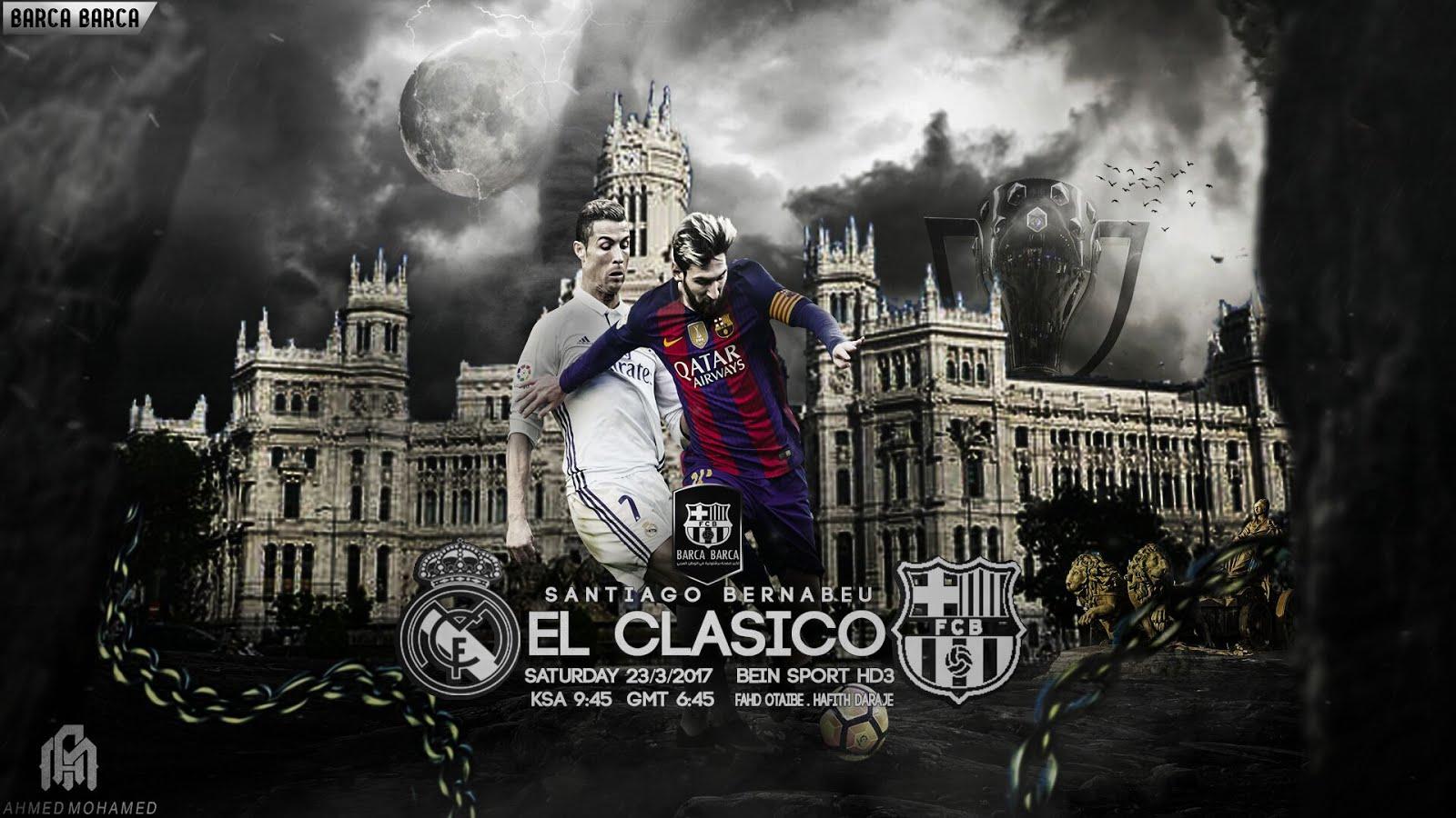 مشاهدة مباراة برشلونة و ريال مدريد بث مباشر بتاريخ (23-04-2017) الدوري الاسباني