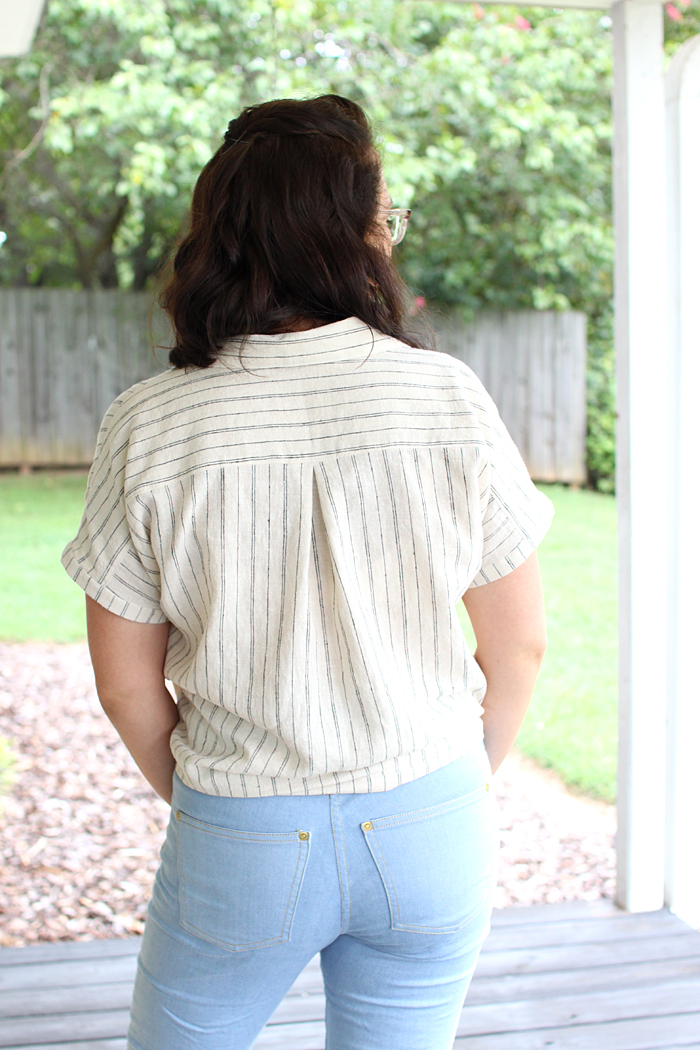 Willamette Shirt Pattern // Sewing For Women