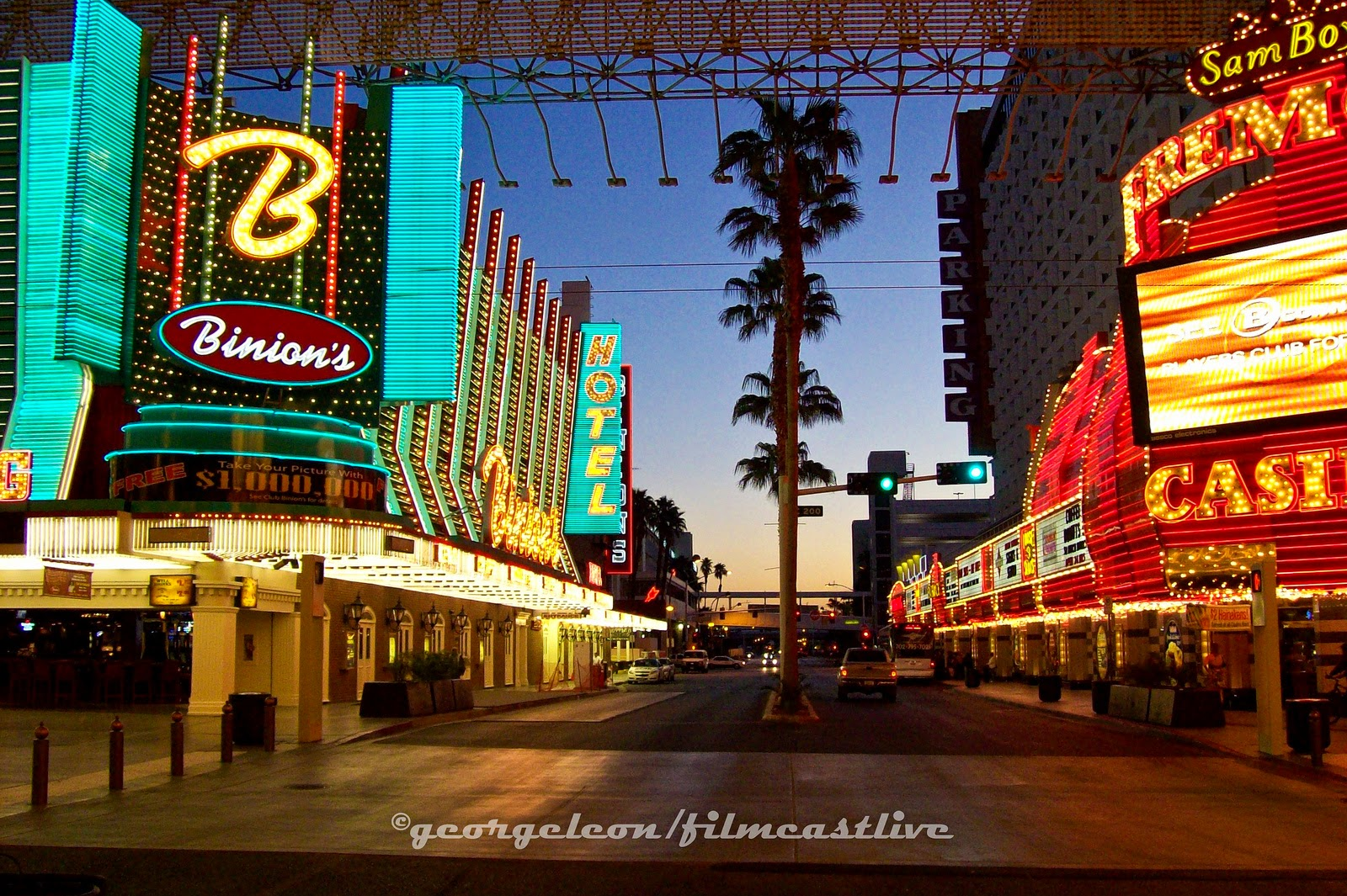 Sleepless in Las Vegas1  George Leon