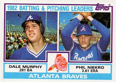 1983 Topps Murphy and Niekro