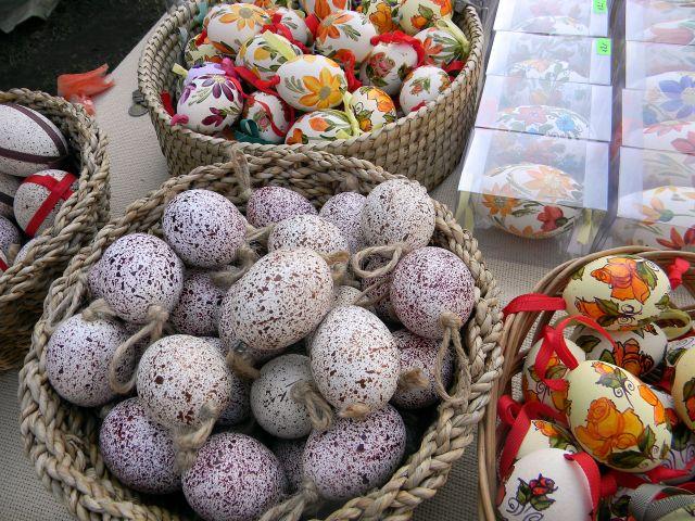 jaja, świąteczne, Wielkanoc, Ochla, lubuskie