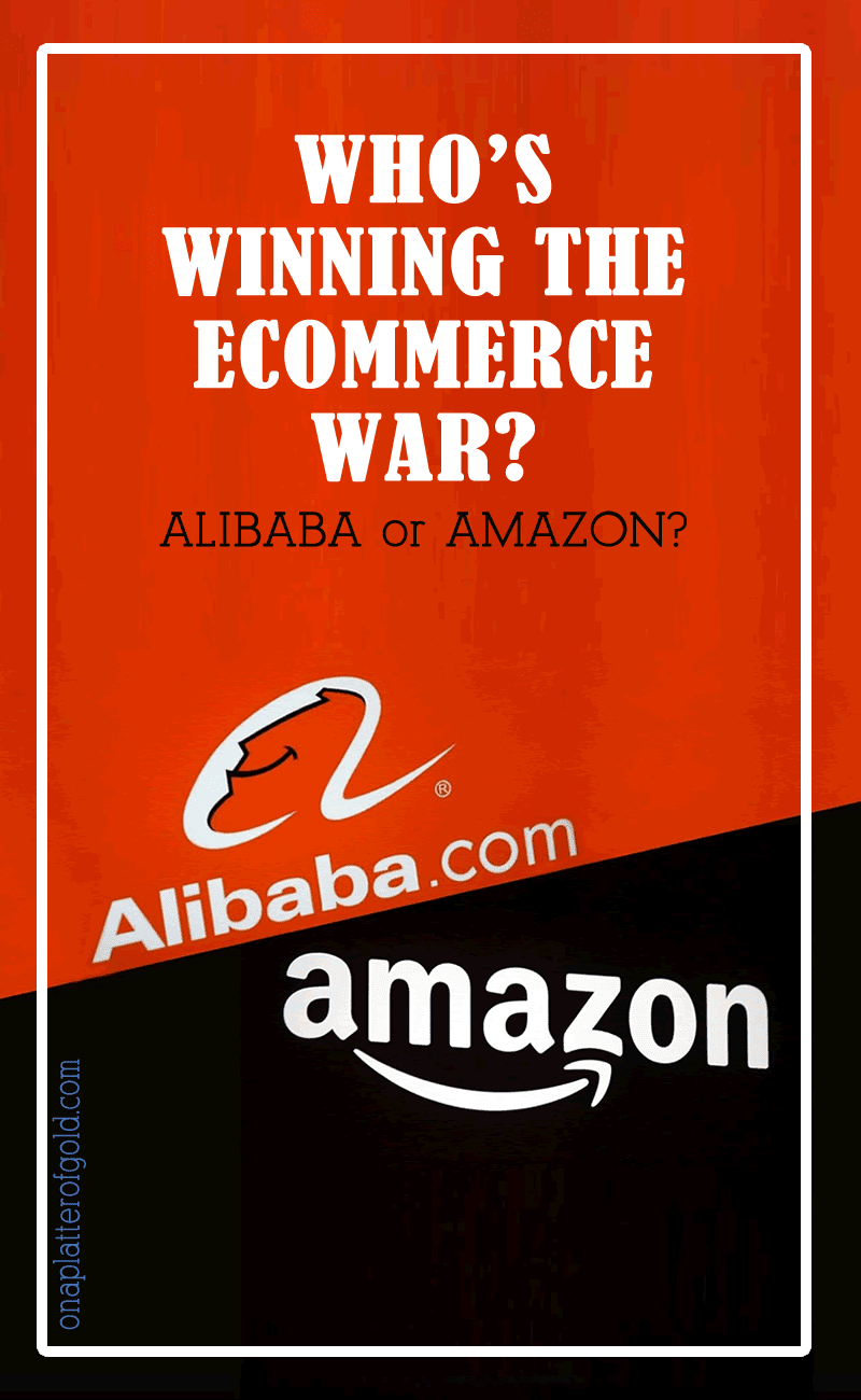 Amazon vs Alibaba: Who Is Winning The eCommerce War? [Infographic]