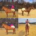 Senam Yoga Atas Kuda Wanita ini Melakukan Yoga Ekstrim Atas Kudanya