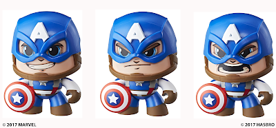 Marvel Mighty Muggs Captain America Mini Figure by Hasbro