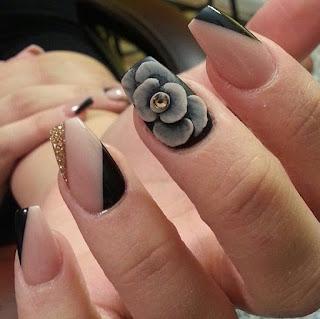 Stunning nail arts
