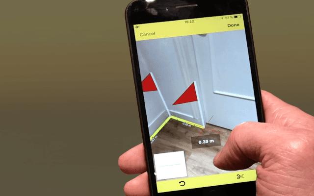 تطبيق جديد يسمح لك بقياس غرفة المعيشة أو أي منطقة في منزلك ثمنه 3 دولار حمله مجانا