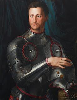 Bronzino's portrait of Cosimo I de' Medici